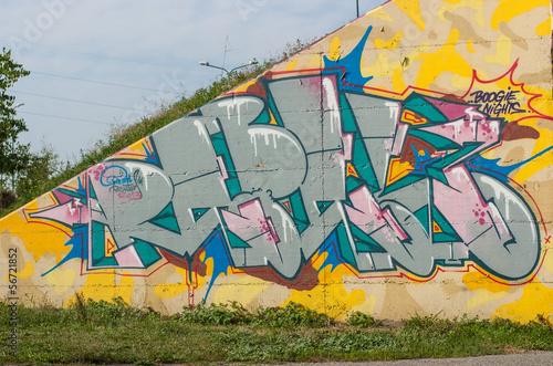 graffito urbano