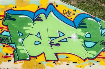 graffito pace