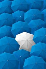 Umbrella, leader, unique