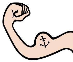Arm marine