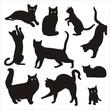silhouette of cat 2