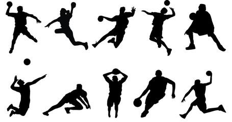 basketball volleyball handball sports