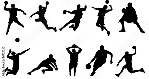basketball volleyball handball sports