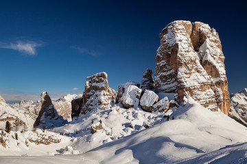 Cinque Torri Dolomiti
