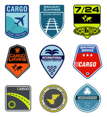cargo service labels