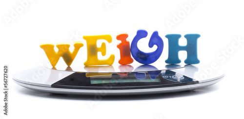 weigh letters