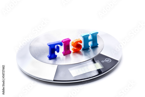 weight measure fish