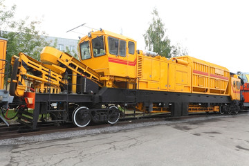 railway renewal train