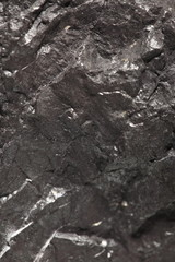 Black bituminous coal, carbon nugget background