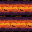 Halloween Ghost Bat Pumpkin Seamless Pattern Background