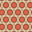 Seamless Flower Pattern Colorful Set