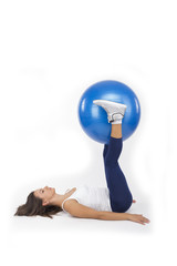 Tick Tocks With an Exercise Ball