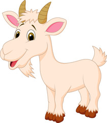 Goat cartoon character