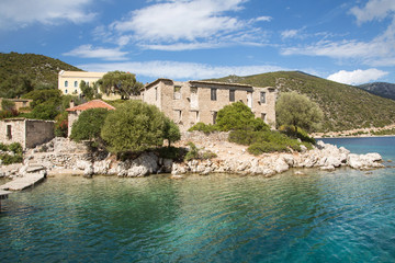Port Leon auf der griechischen Insel Kalamos in Griechenland