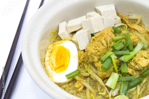 Thai Curry Noodle.