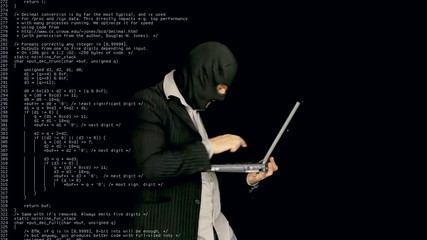 Masked criminal cybercrime source code
