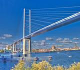 Neue Rügenbrücke   Strelasund