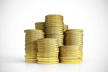 Gold Money stacks