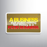 Business motivational background