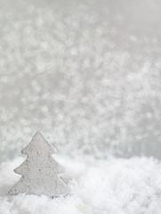 Tannenbaum im Schnee