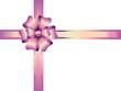 schleife,dekoschleife,bandschleife,rosa,pink,weiss,verpackung  g