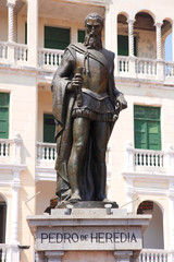 Statue of Pedro de Heredia