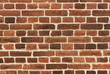 Background of vintage brick wall  closeup