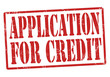 Application for credit stamp