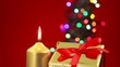 Christmas background scene with copy space