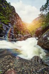 mountain rapids