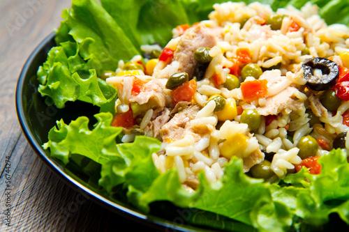 insalata di tonno con riso