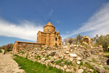 Akdamar Island church on Van Lake Turkey.