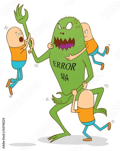 error 404 monster