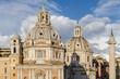 Roma, il foro Traiano, veduta