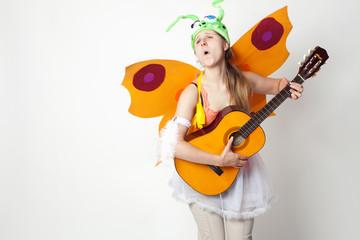 singender Schmetterling