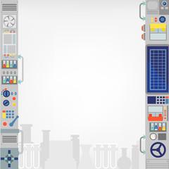 template design/laboratory