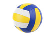 Leinwanddruck Bild - Volley-ball ball, isolated
