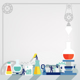 laboratory /template design