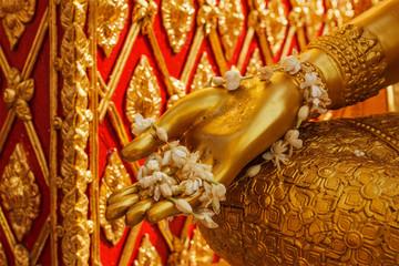 Buddha statue hand