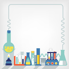 Illustration of the laboratory