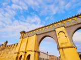 Gate to the Moulay Ismail Mausoleum in Meknes, Morocco poster