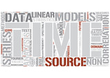 Time series Word Cloud Concept