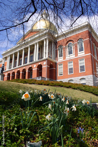 Massachusetts State House..