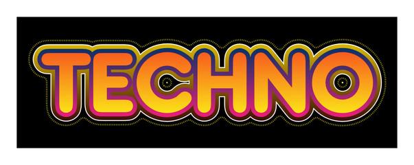 Techno, electro, musique, style, radio, tube, hit, musical