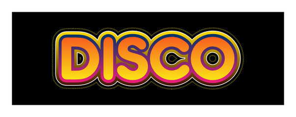 Disco, musique, style, radio, tube, hit, musical