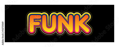 Funk, funky, musique, style, radio, tube, hit, musical