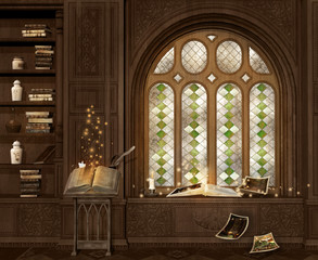 Magic library