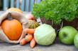Biogemüse vom Markt