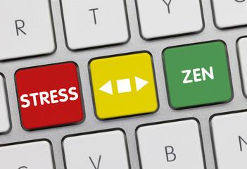 Clavier Stress et zen