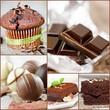 Collage Schokolade